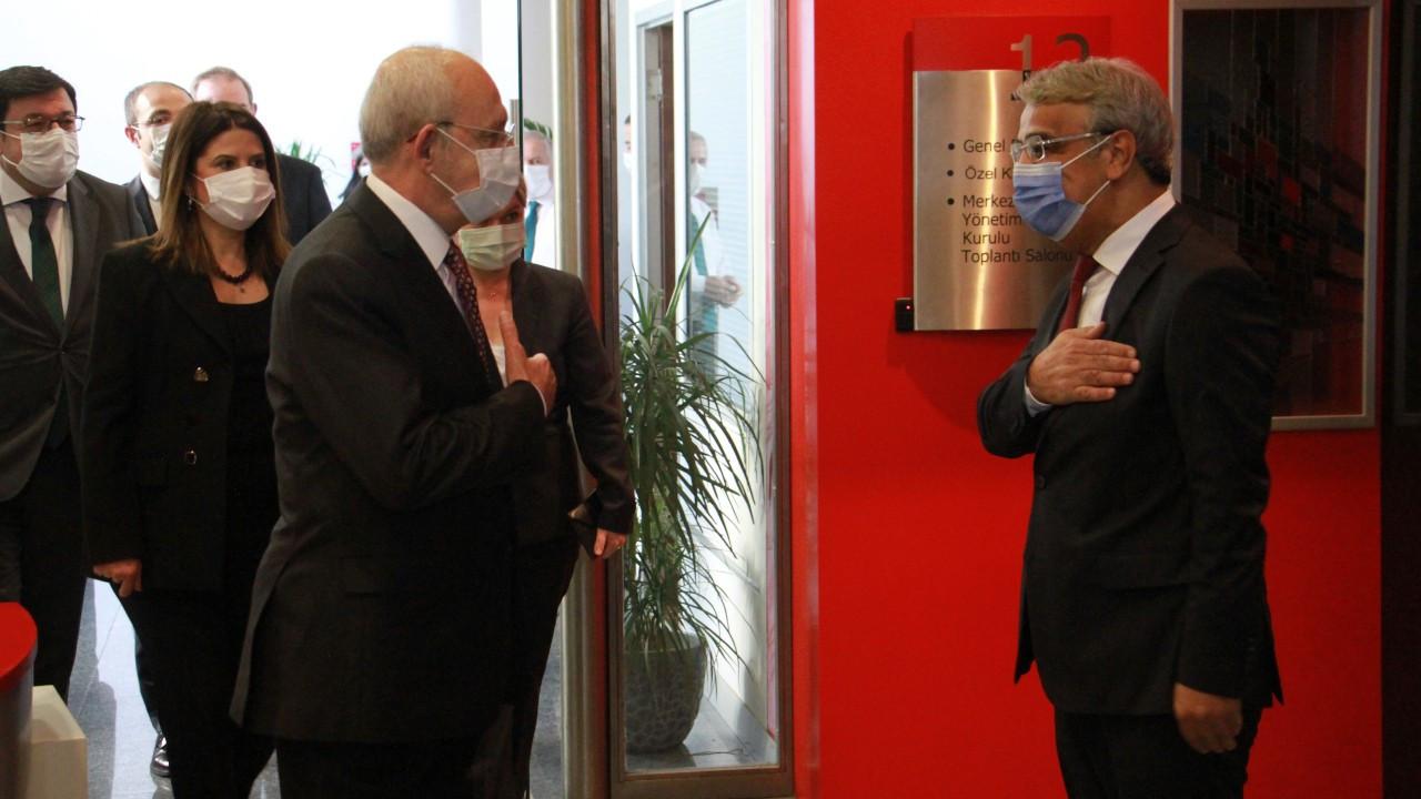 Sancar'dan Kılıçdaroğlu'nu ziyaret: Seçim ittifakları gündemimizde yok, arayışımız demokrasi ittifakı