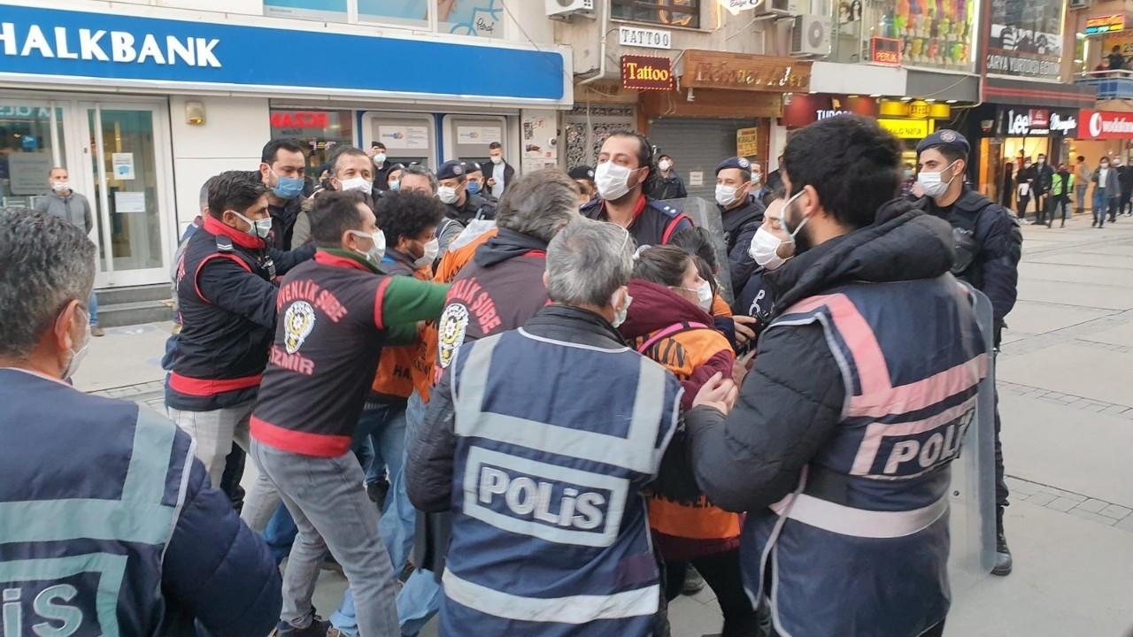 İzmir'de Boğaziçi eylemine izin verilmedi: 32 kişi gözaltına alındı
