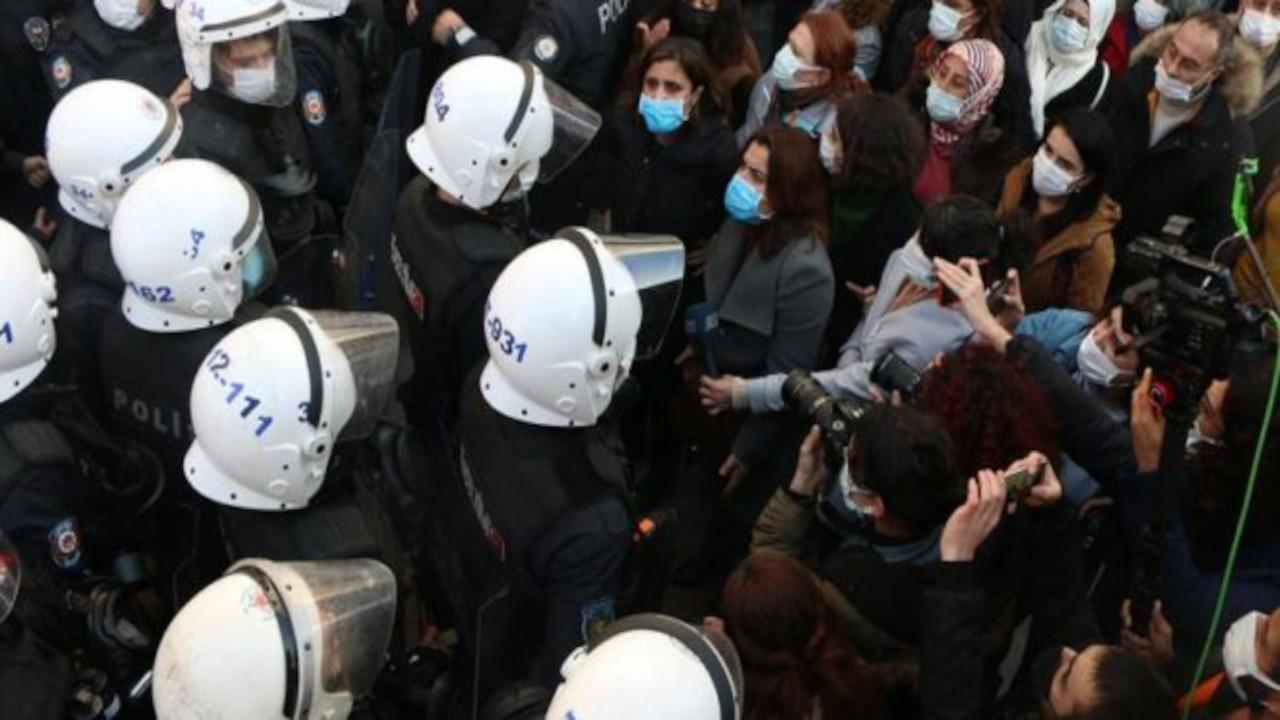 Özge Elvan katılmadığı eylemde gözaltına alındı