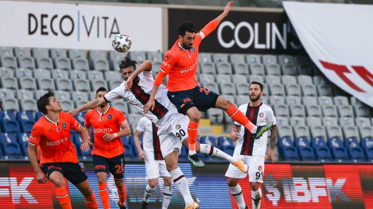 Başakşehir'in galibiyet özlemi 7 maça çıktı