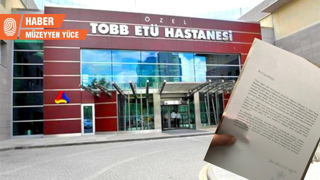TOBB ETÜ Hastanesi'nde 100'e yakın sağlıkçı ücretsiz izne çıkarıldı