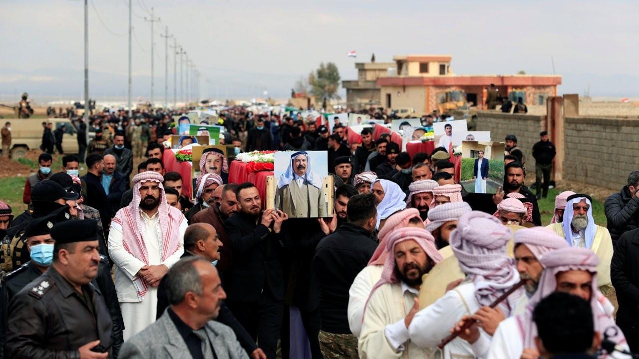 IŞİD'in katlettiği 104 Ezidi, Koço köyünde toprağa verildi