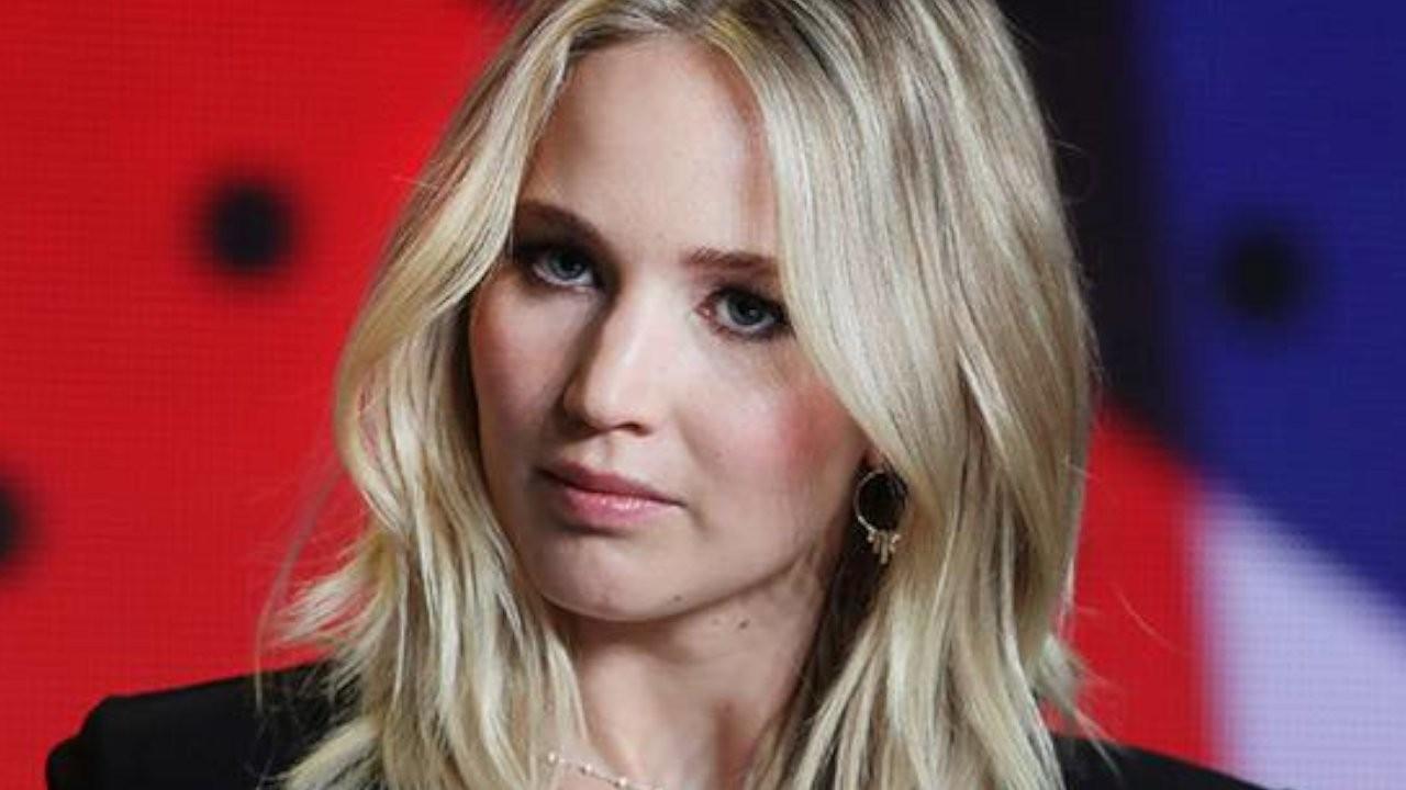 Jennifer Lawrence sette kaza geçirdi