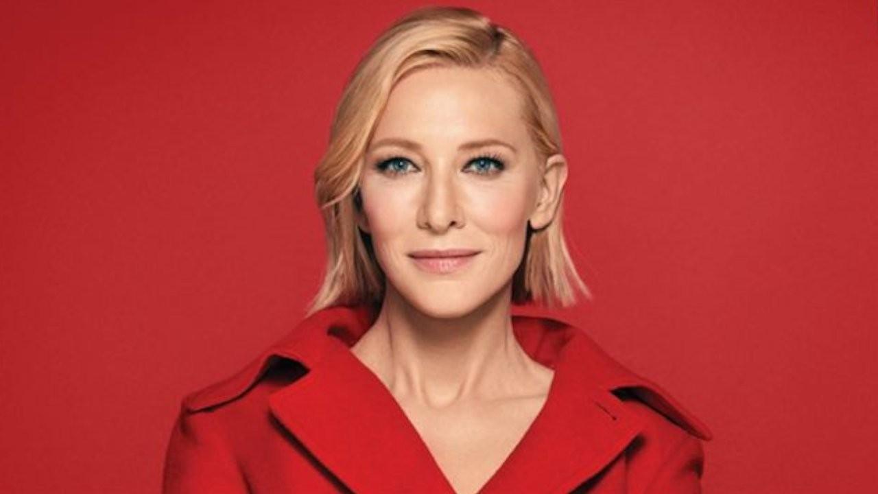 Cate Blanchett yeni bir film için yapımcı koltuğunda