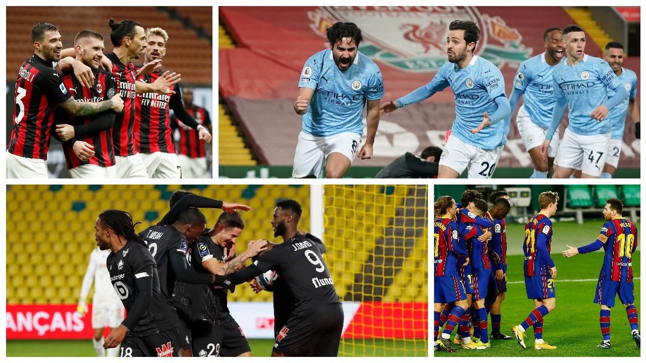 Avrupa liglerinde haftanın panoraması