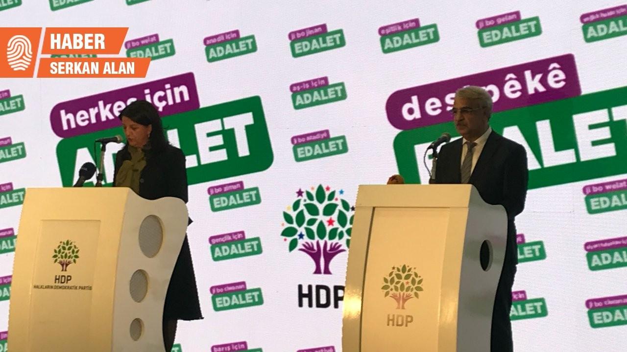 HDP: Daha fazla geç kalmadan herkes için adalet diye haykıralım