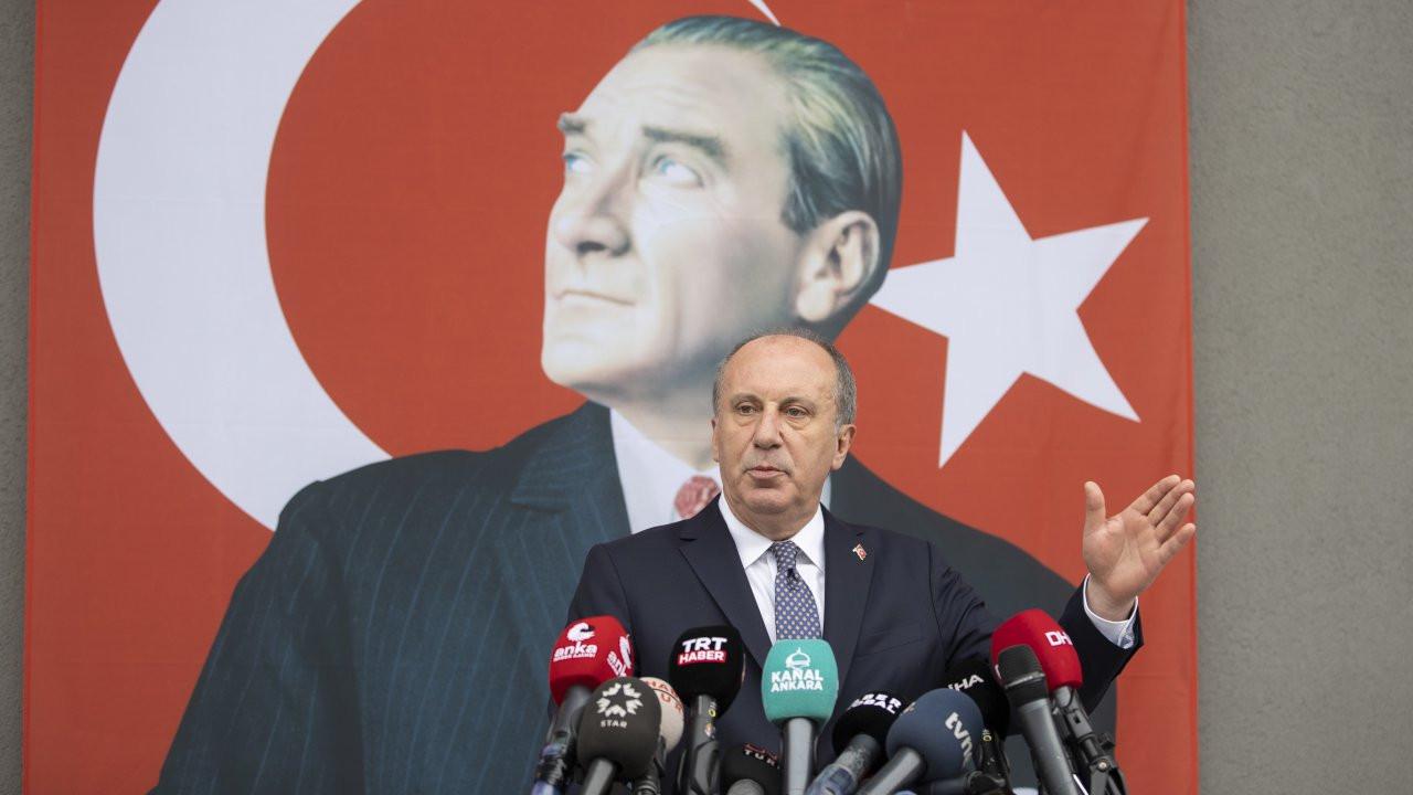 Muharrem İnce istifa etti: CHP tabeladan ibaret