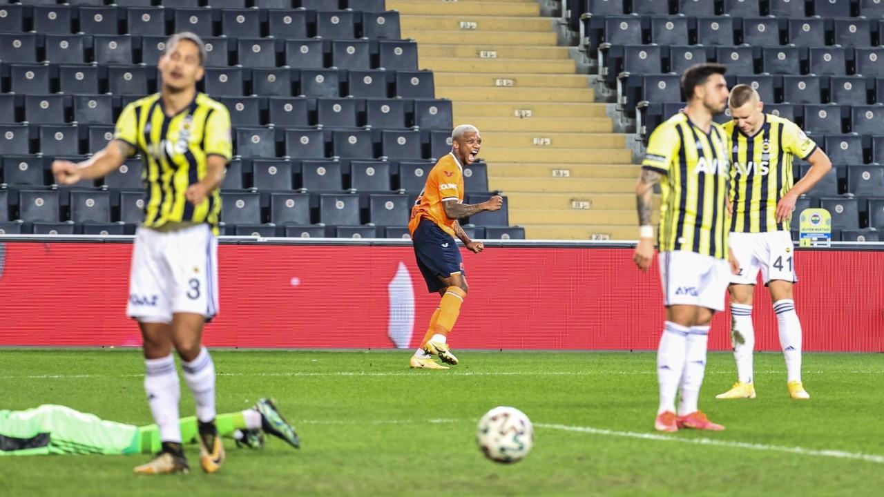 Başakşehir kupada Fenerbahçe'yi eledi