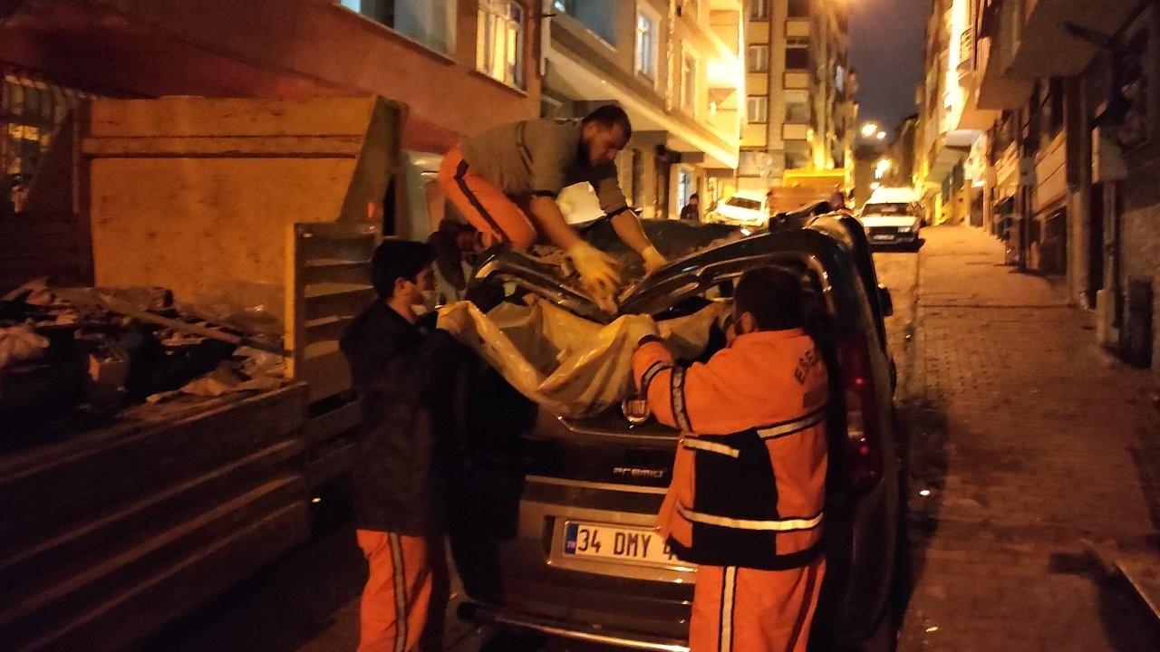 İstanbul'da fırtına: 3 kişi yaralandı