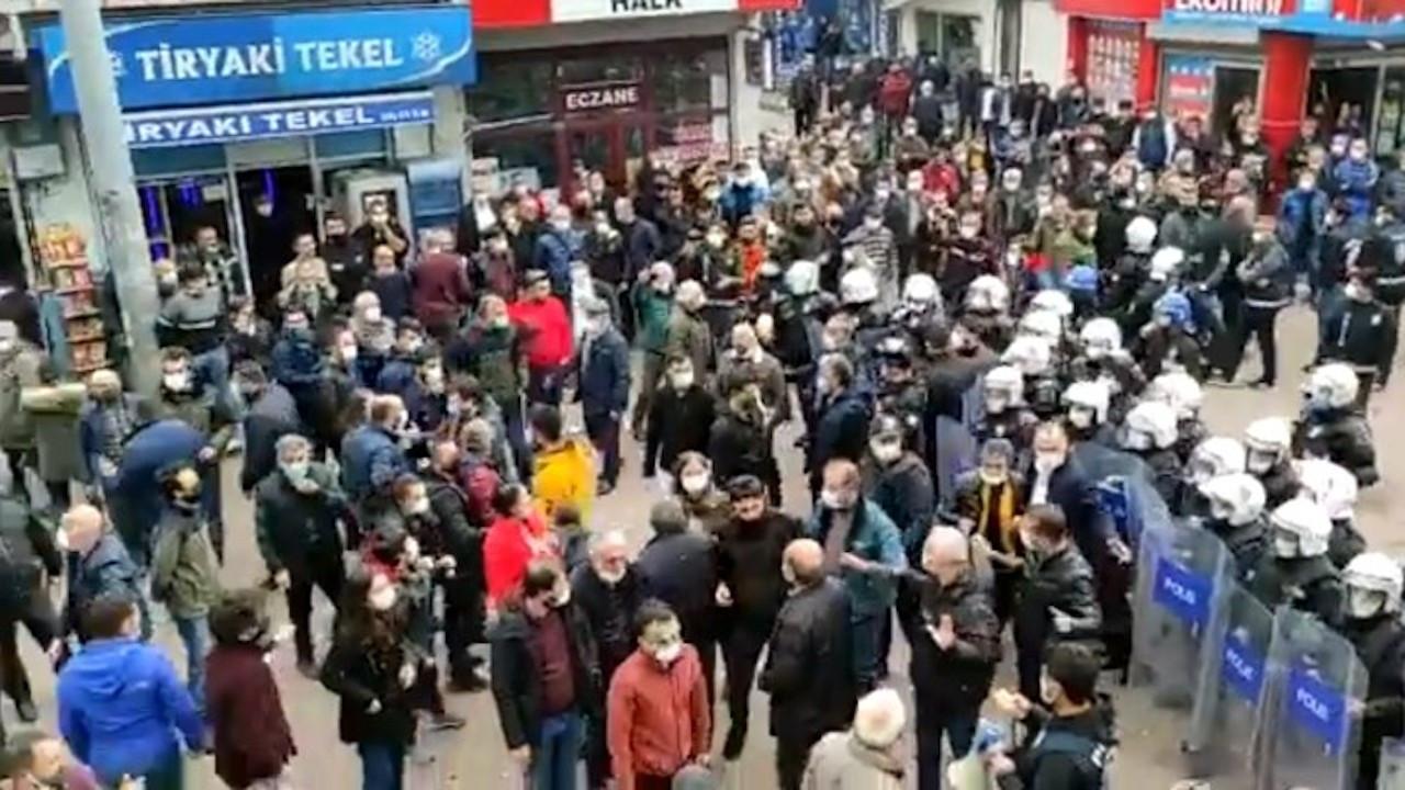 Artvin'de Boğaziçi protestosuna polis saldırdı