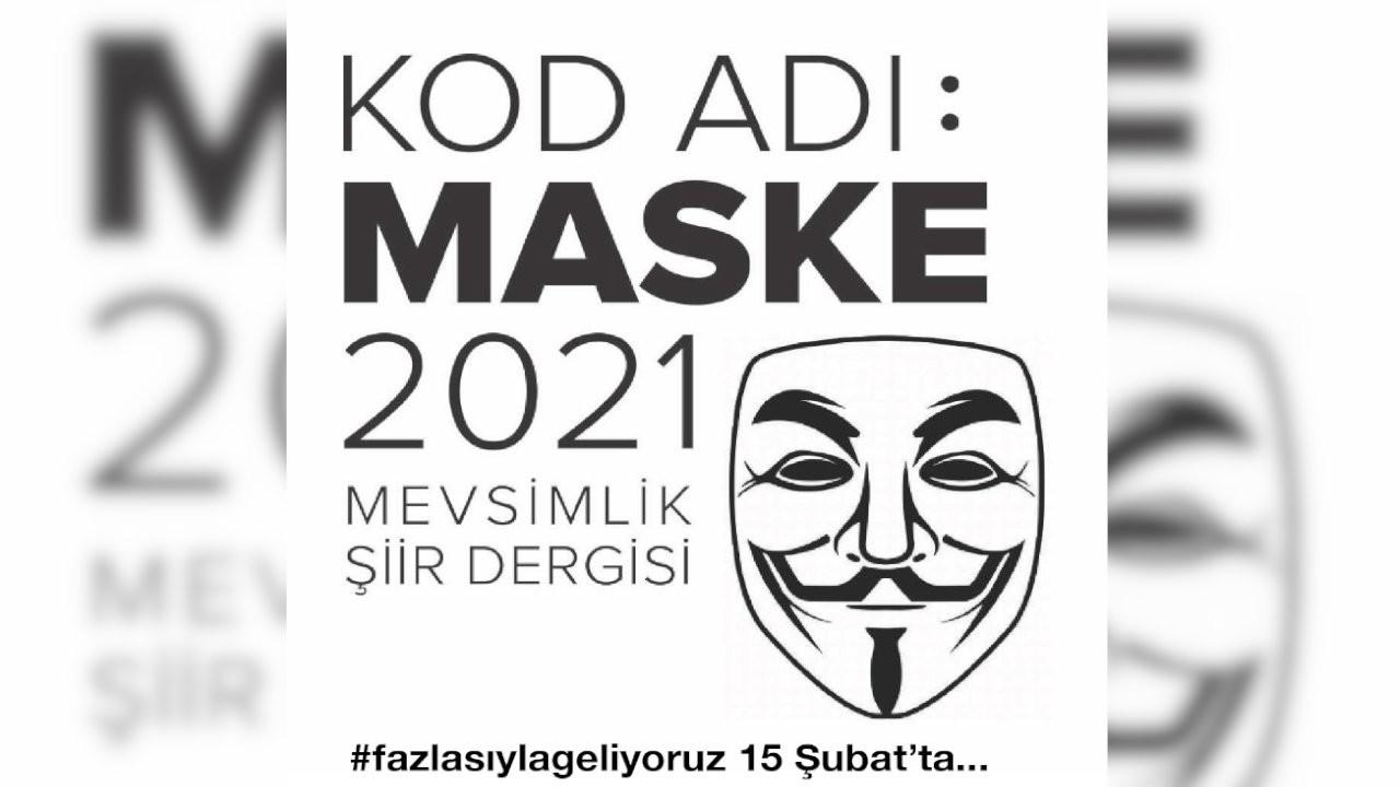 Şiir dergisi 'Kod Adı: Maske 2021' Gazete Duvar'da yayınlanacak