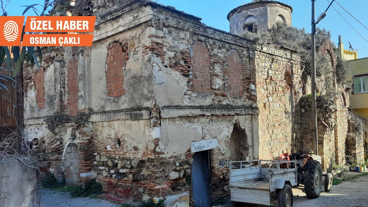 Trilye'de restore edilmeyen kiliseler yıkılmak üzere