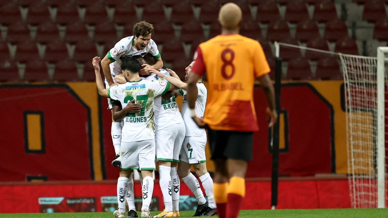 Galatasaray'ı eleyen Aytemiz Alanyaspor yarı finalde