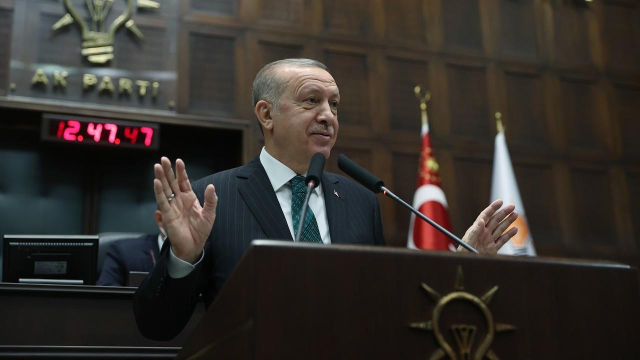'Müjdeli Millete Sesleniş' AK Parti grup toplantısıymış