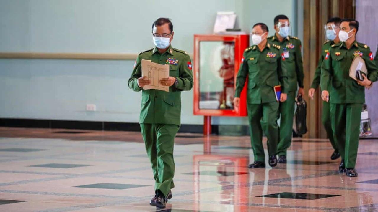 ABD'den Myanmar'daki darbeci askerlere yaptırım kararı