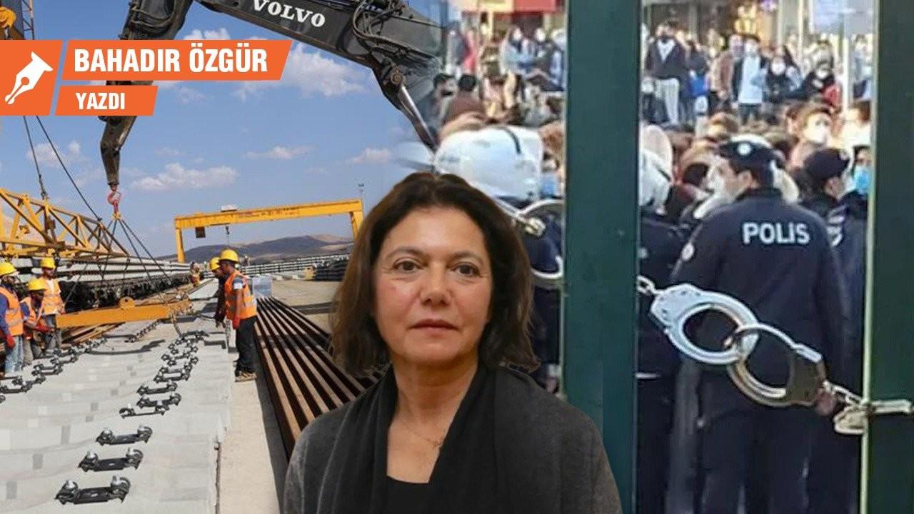 Prof. Ayşe Buğra, Boğaziçi ve Kırıkkale'deki tünel