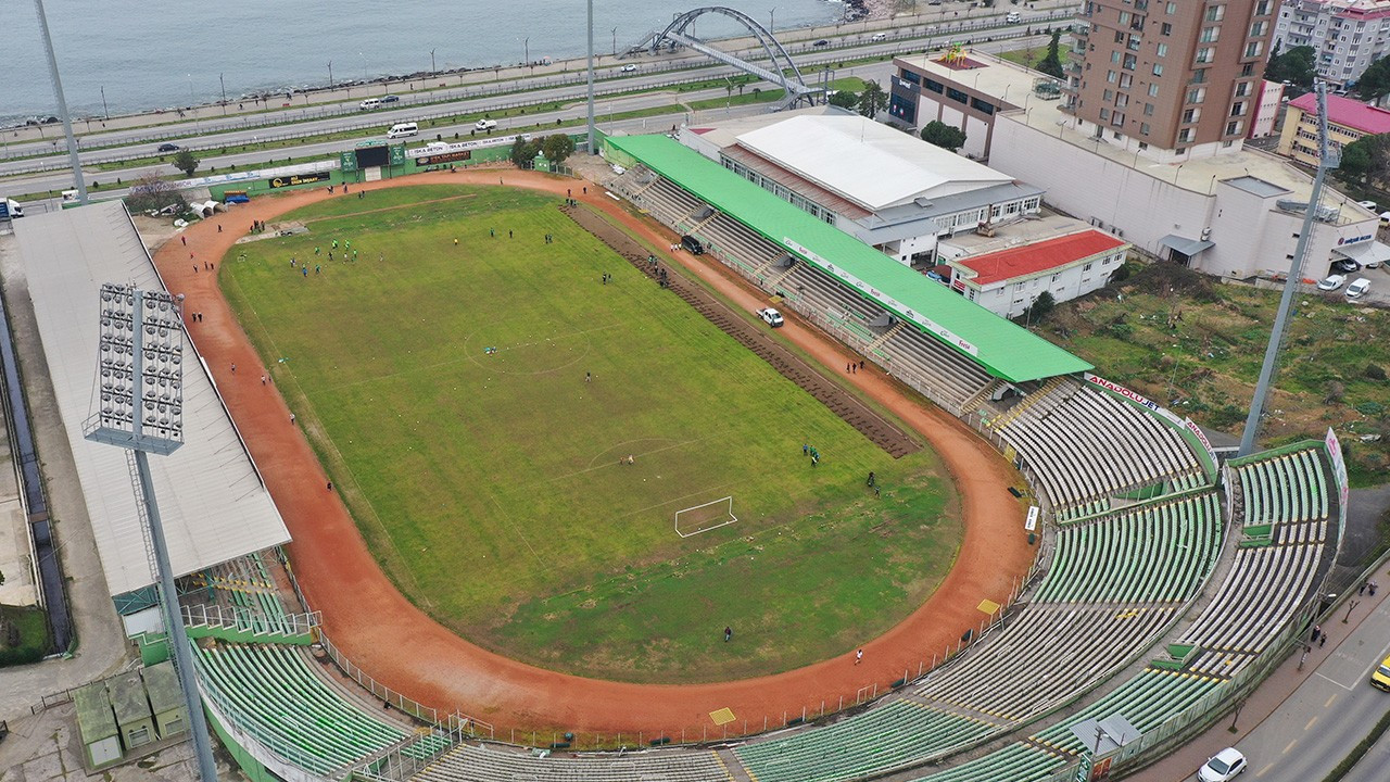 Giresun Atatürk Stadı'nın yıkımı başlıyor: Millet bahçesi yapılacak