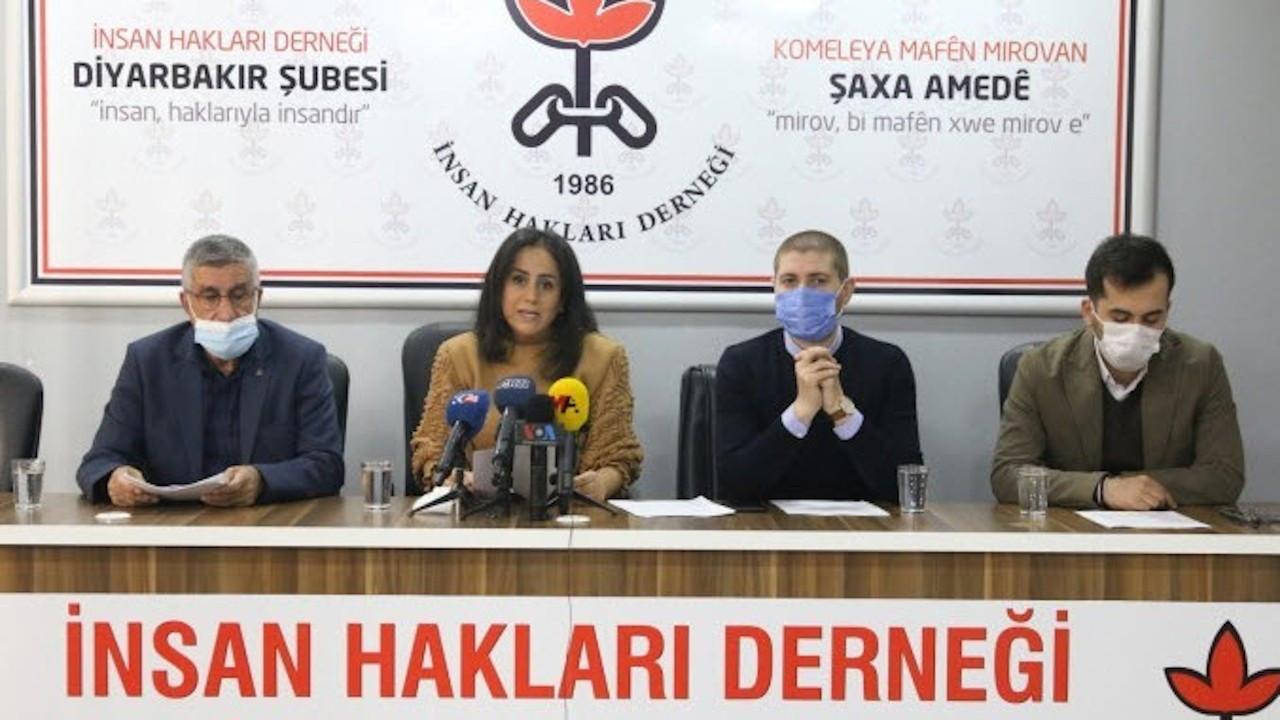 İHD Diyarbakır Şubesi: 2020'de yüzlerce hak ihlali yaşandı
