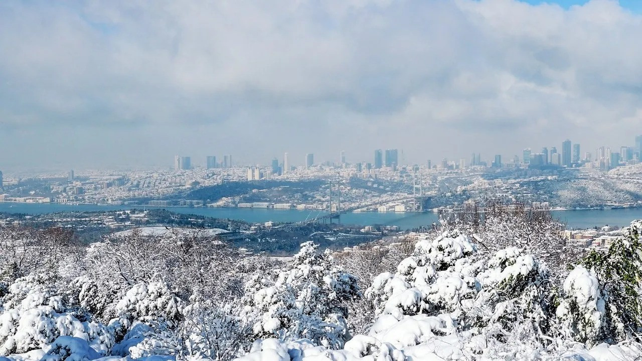 Valilikten İstanbul'a kar ve fırtına uyarısı