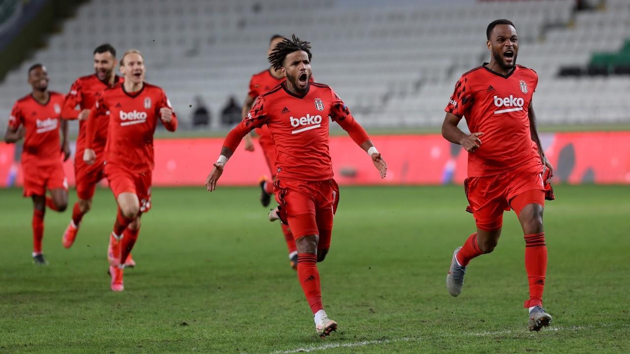Beşiktaş penaltılarda tur atladı