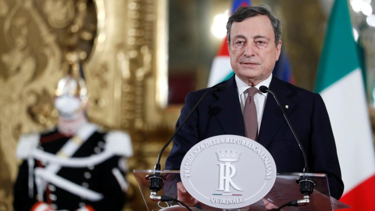 İtalya'da Başbakan Draghi yeni hükümeti kurdu