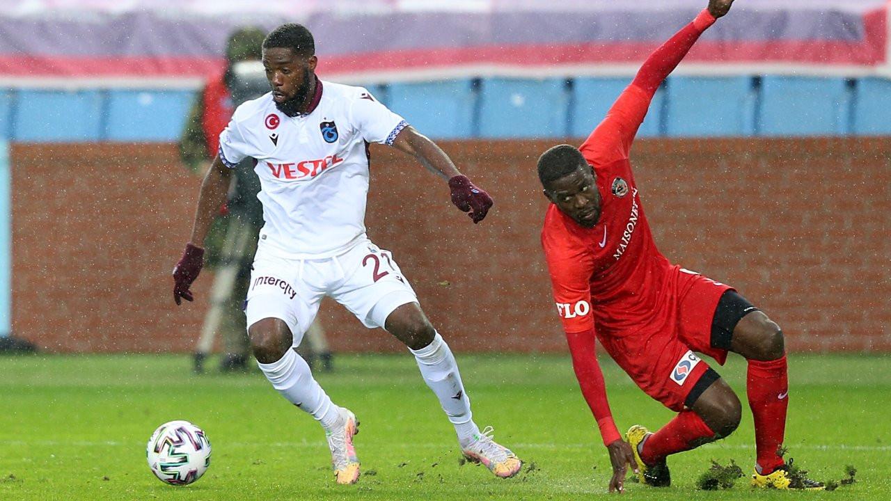 Trabzonspor galibiyetleri seriye bağladı: 1-0