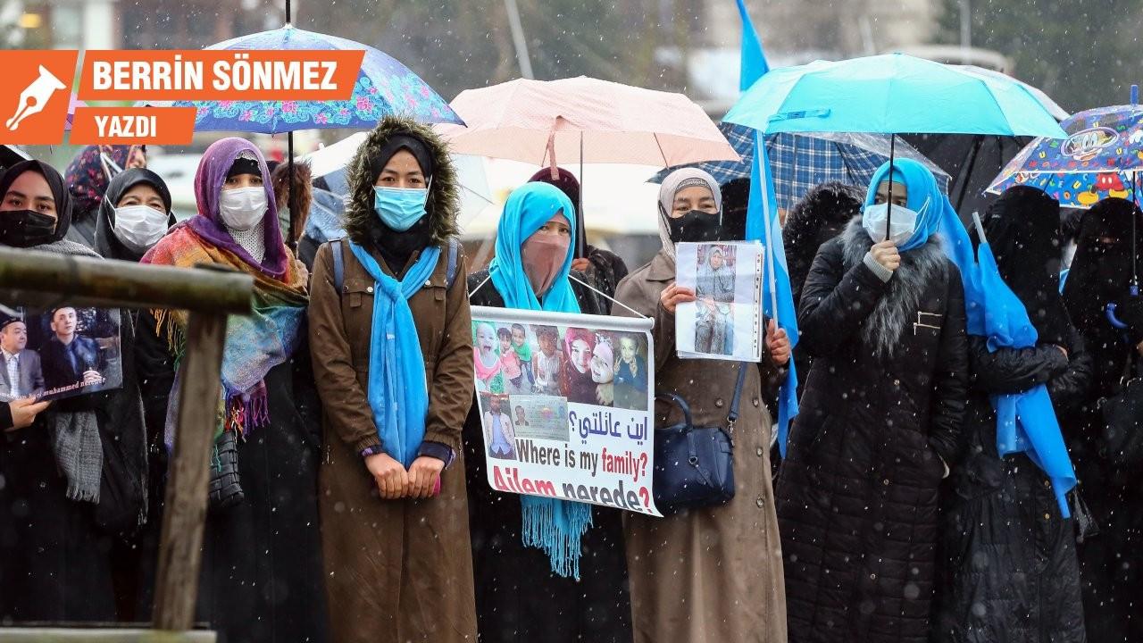 Doğu Türkistan Çin'in, Uygurlar Ankara'nın ablukasında