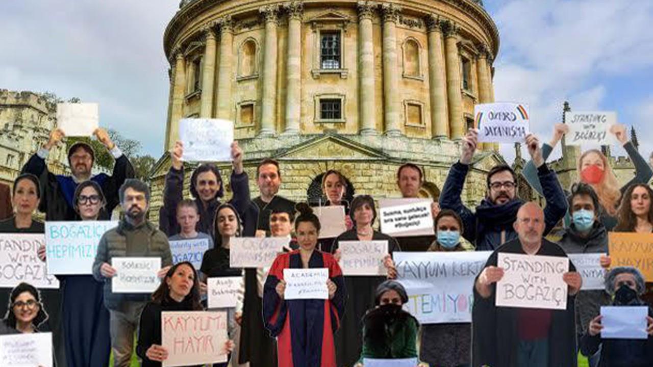 Oxford akademisyenlerinden Boğaziçi eylemlerine destek