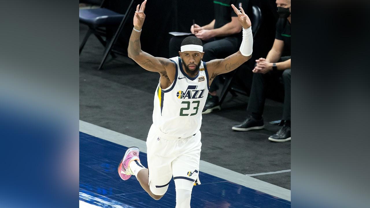 Utah Jazz'den üst üste 7'nci galibiyet