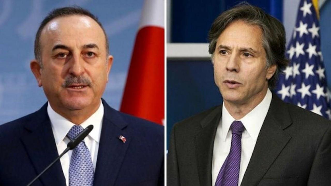 Çavuşoğlu, ABD Dışişleri Bakanı Antony Blinken'le görüştü