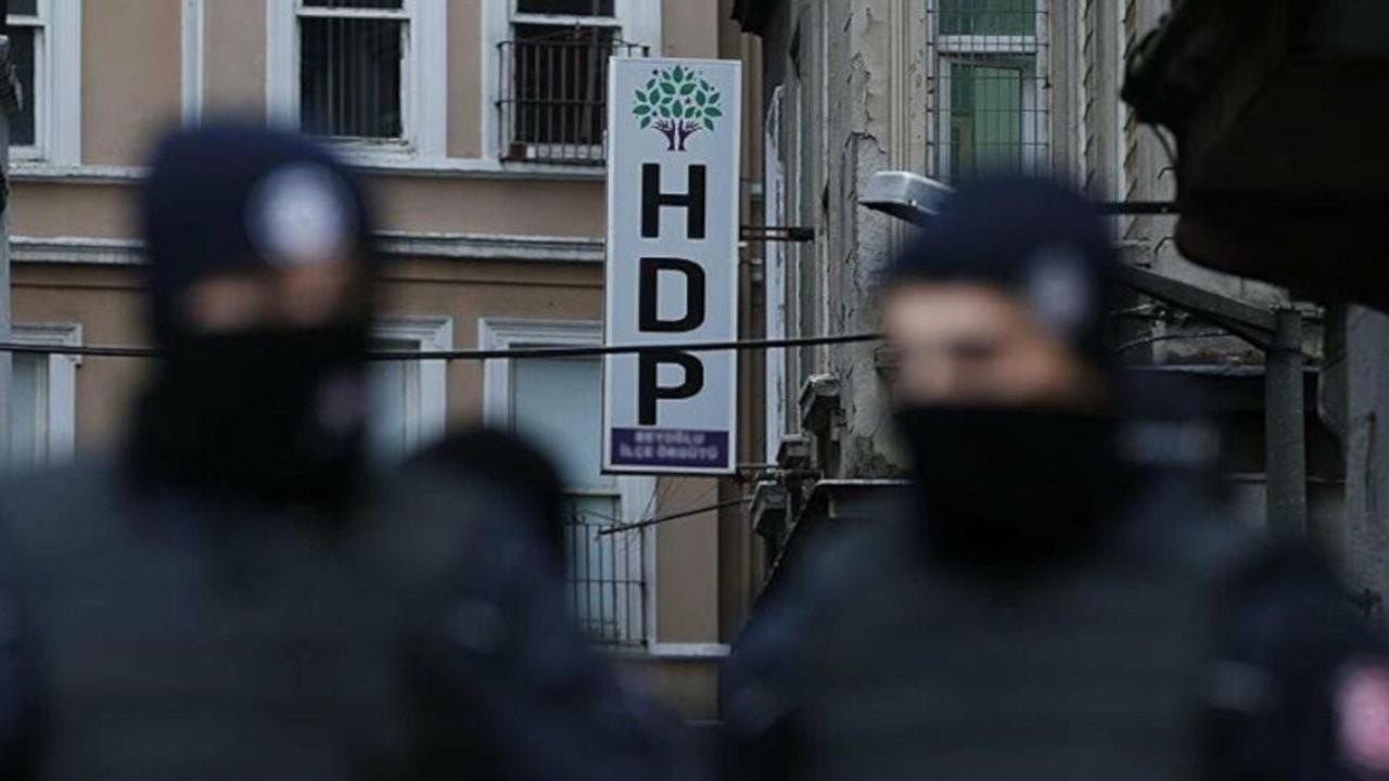 'Aralarında HDP'li başkanların da olduğu 718 kişi gözaltına alındı'