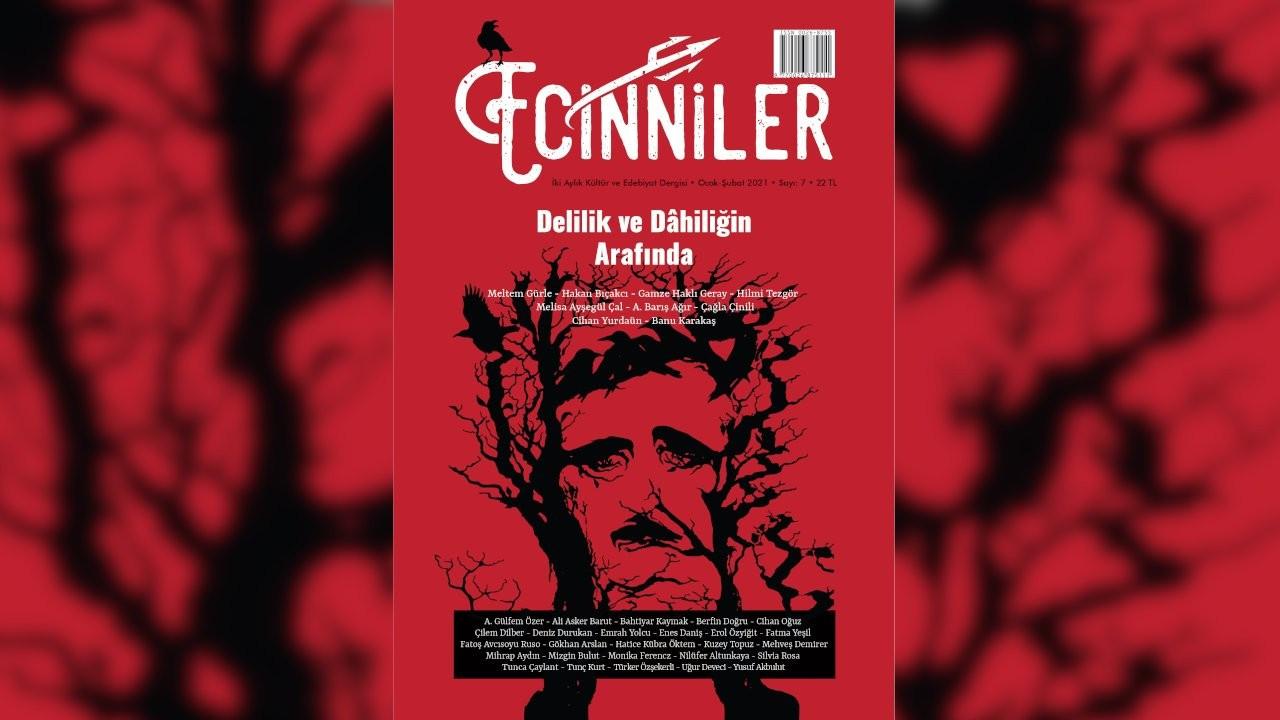 Ecinniler kültür ve edebiyat dergisinden yeni sayı