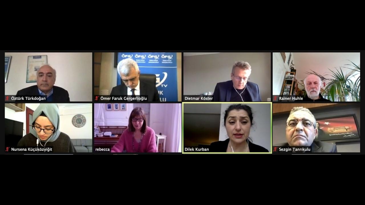 Türkiye'de zorla kaybettirmelerle ilgili uluslararası toplantı yapıldı