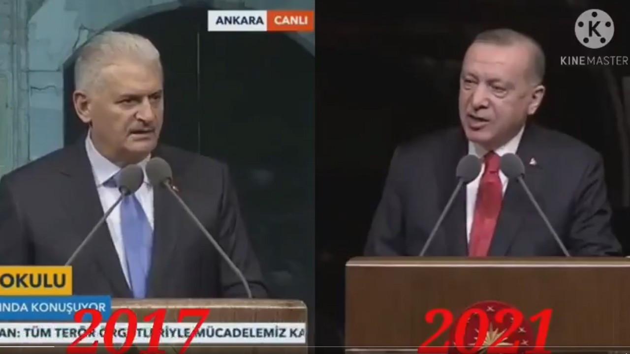 Erdoğan'ın 'kopya' konuşması Twitter'da TT oldu