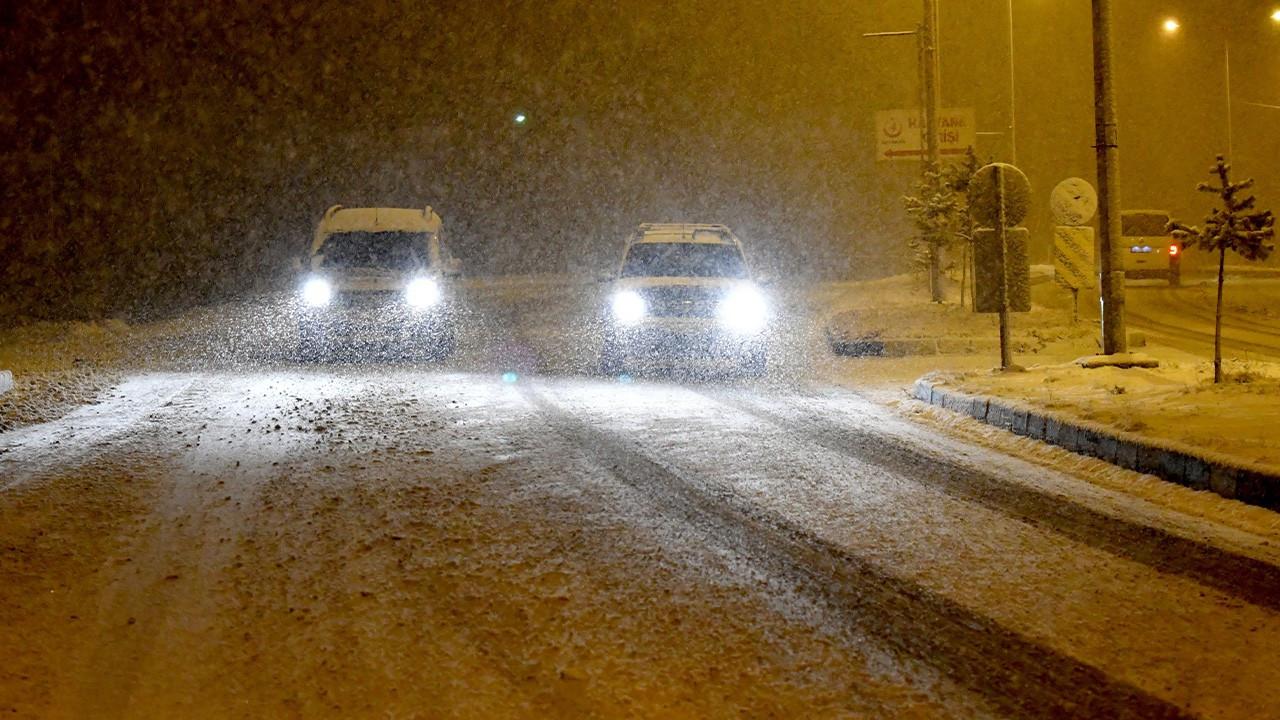 Meteorolojiden birçok şehre yoğun kar uyarısı