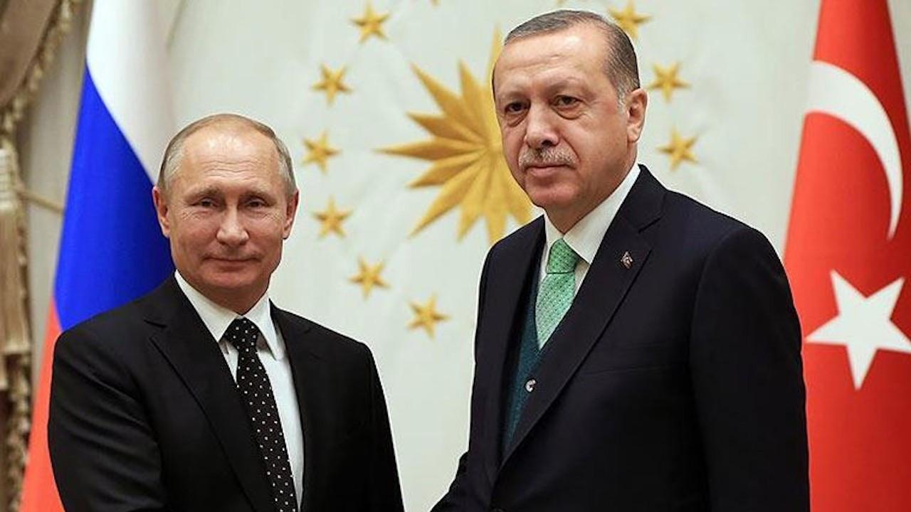 Erdoğan ve Putin Suriye ile Libya'yı konuştu