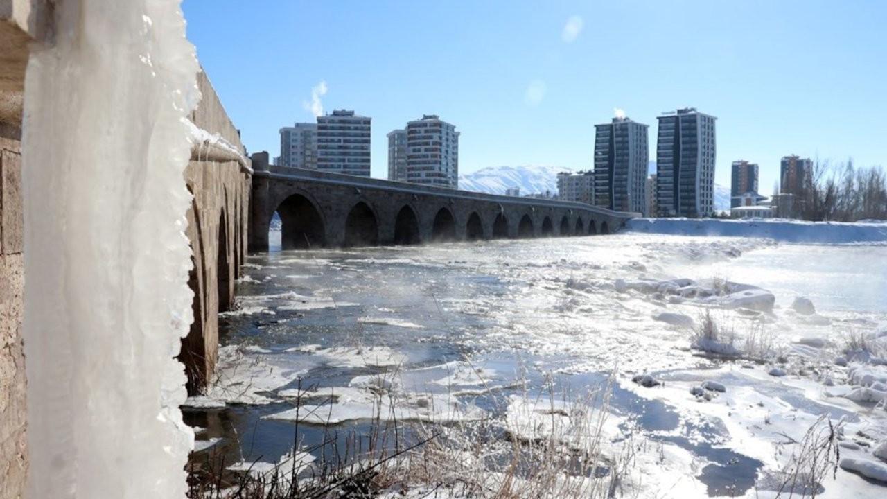 Türkiye'nin en soğuk yeri: Sıcaklık eksi 26,3'a indi...