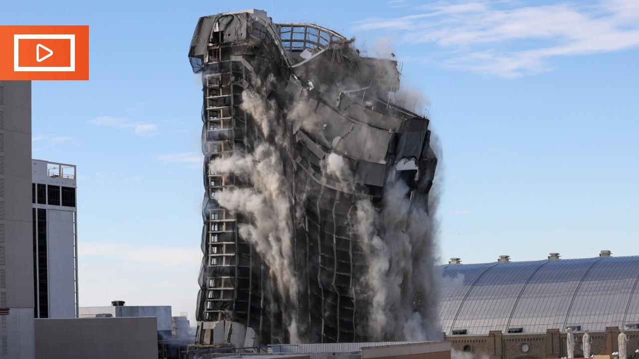 Trump'ın kumarhane-oteli yıkıldı