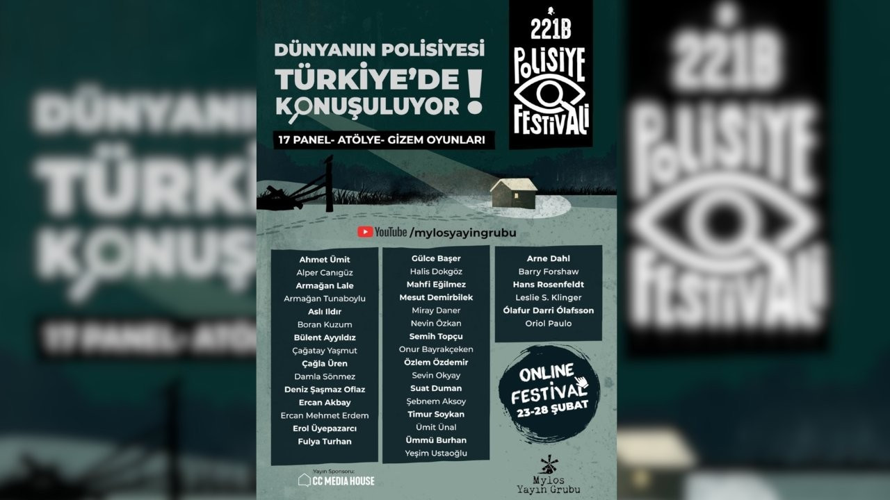 '221B Polisiye Festivali' çevrimiçi düzenlenecek