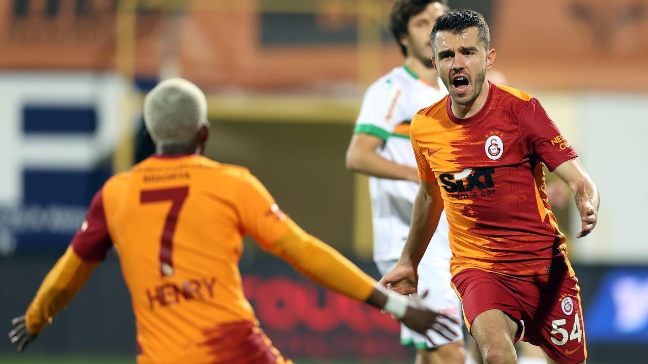 Galatasaray galibiyet serisini 7 maça çıkardı