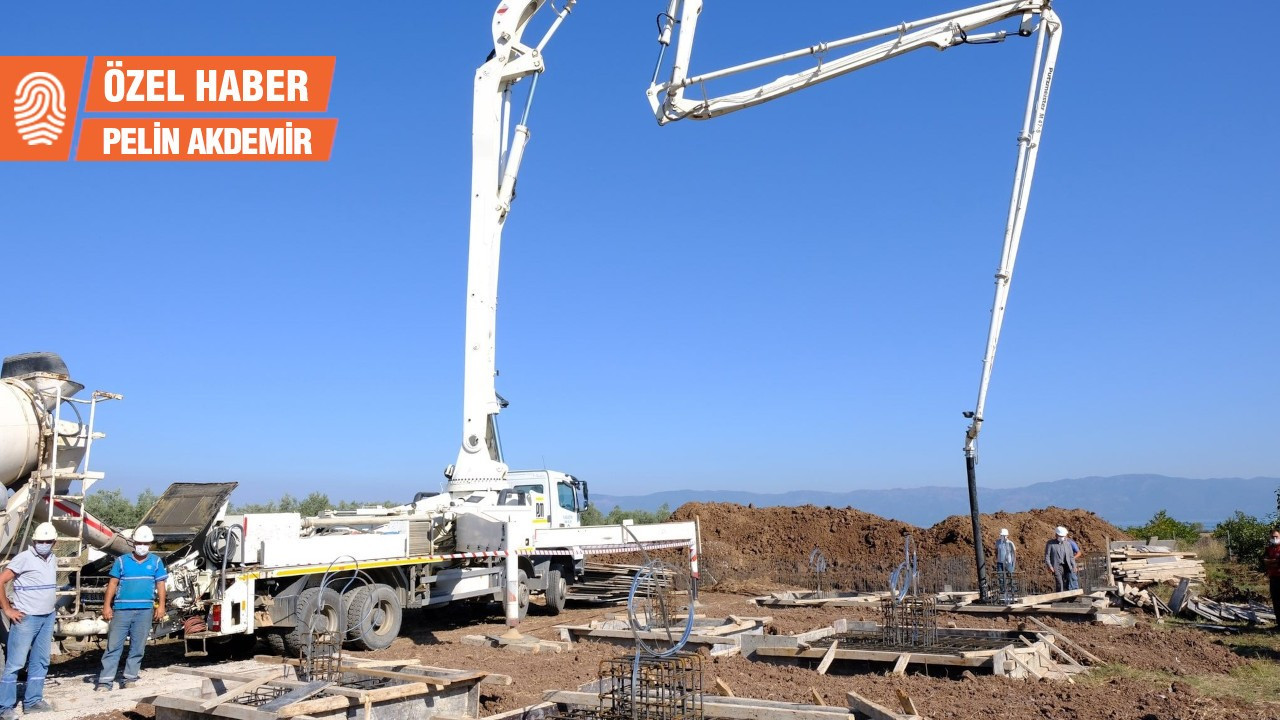 İznik Gölü kenarındaki fabrikaya inşaatı bittikten sonra ÇED raporu verildi