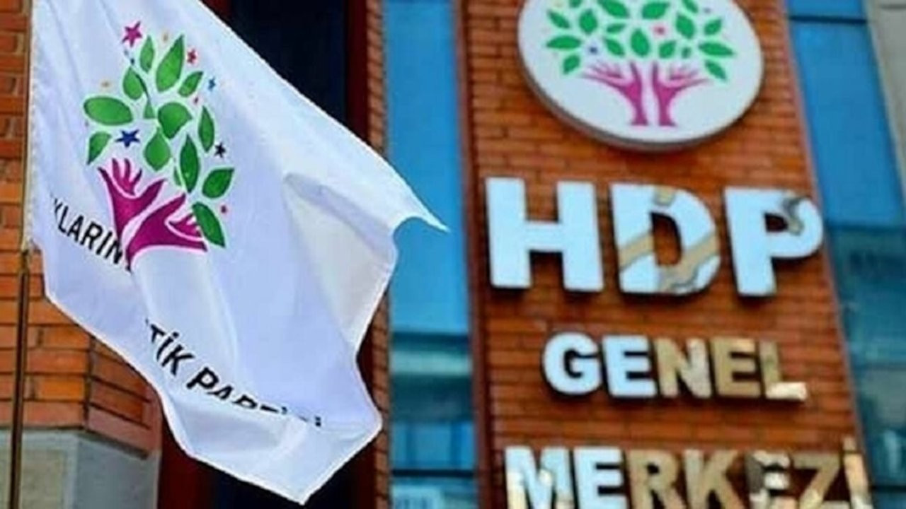 Yargıtay Başsavcısı, HDP'nin kapatılması istemiyle AYM'de dava açtı