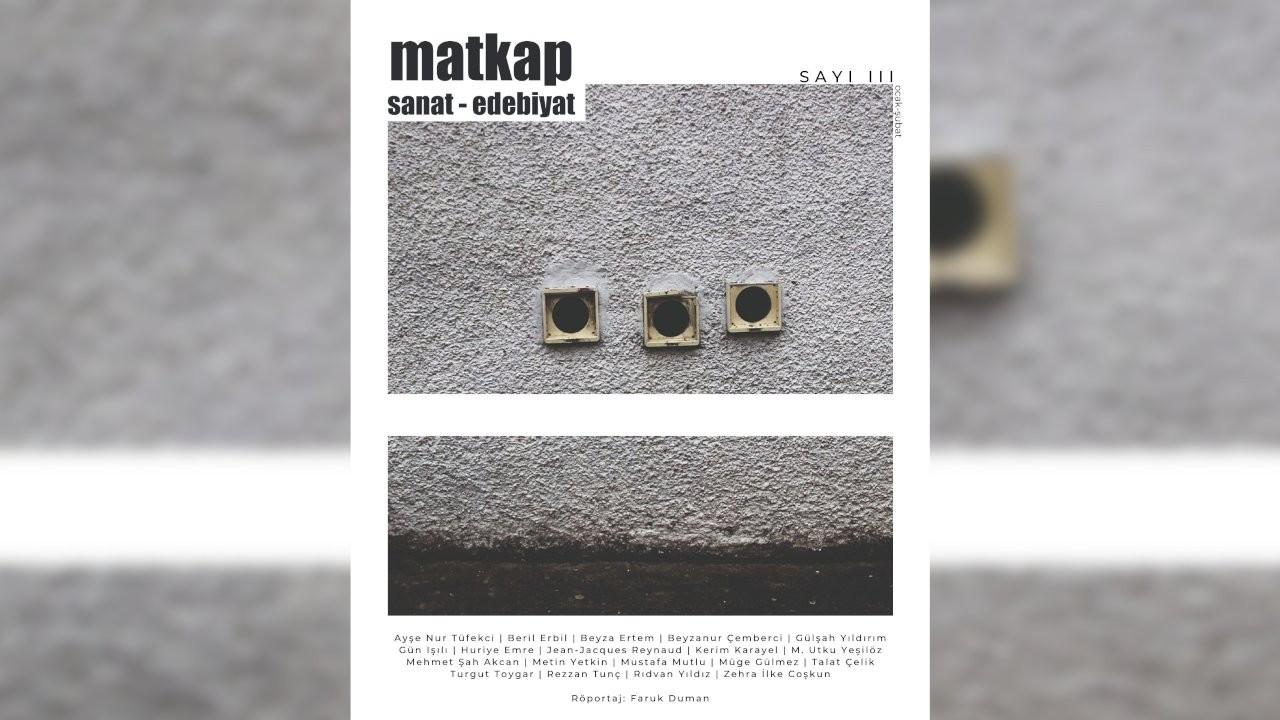 Matkap Dergisi'nin üçüncü sayısı çıktı