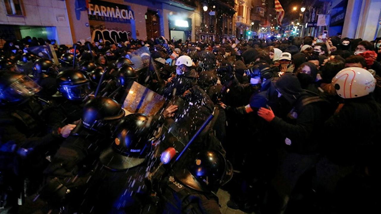 İspanya'da Hasel için protestolar sürüyor: 107 gözaltı, 82 yaralı