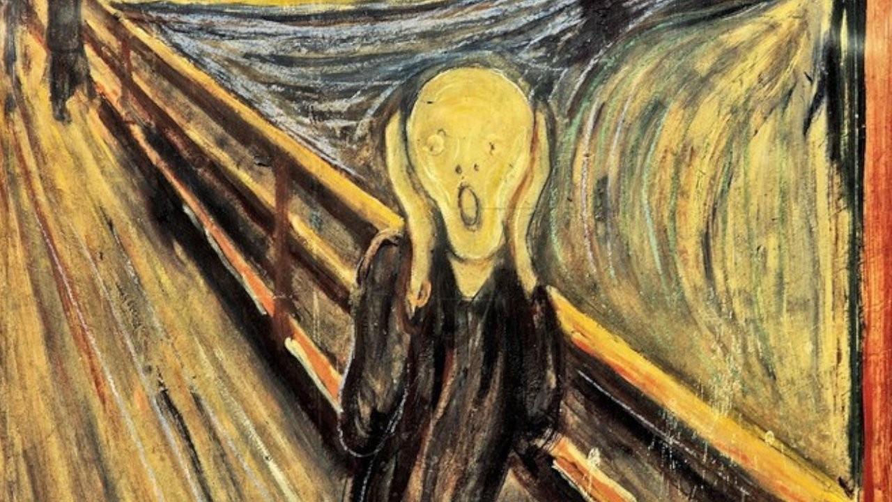 Çığlık tablosundaki 'deli' yazısını ressam Edvard Munch'un yazdığı belirlendi