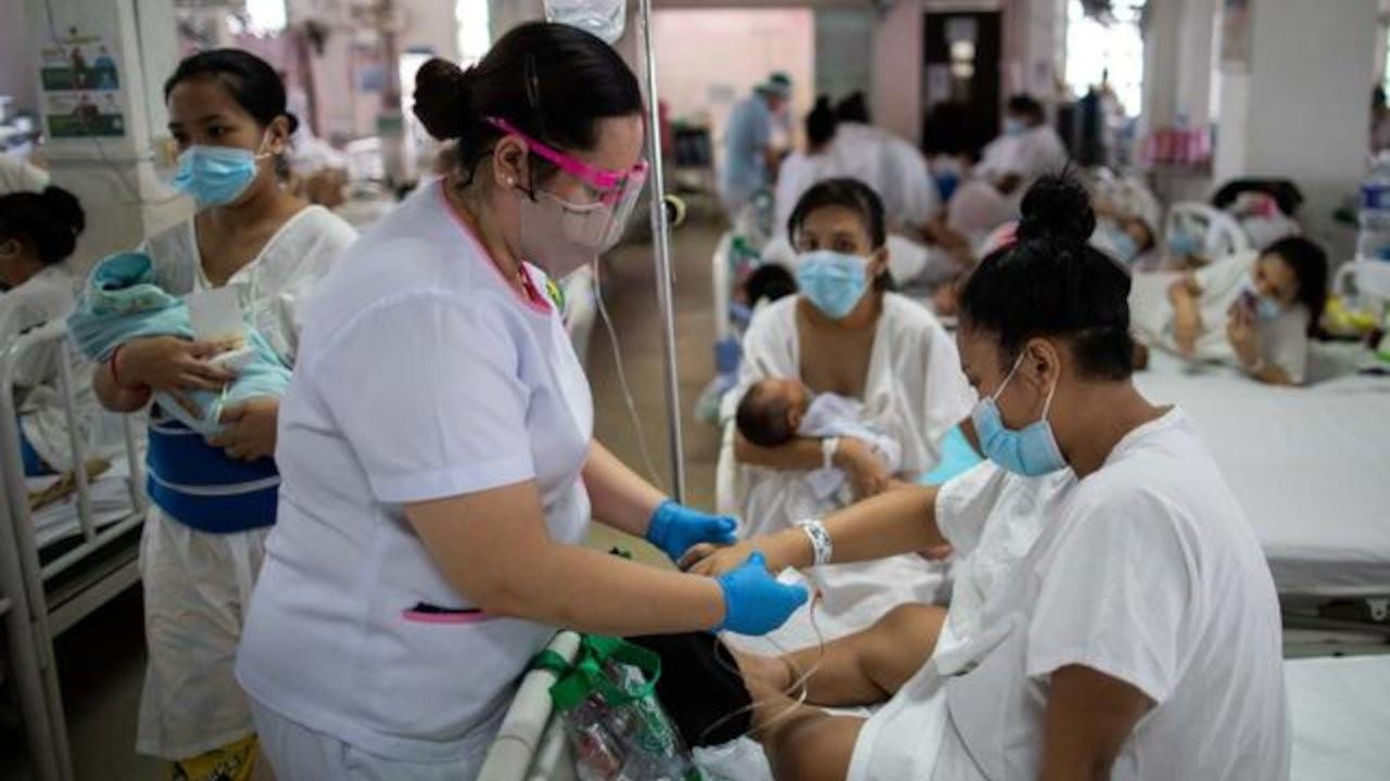 Filipinler'den aşıya karşılık 'hemşire' teklifi