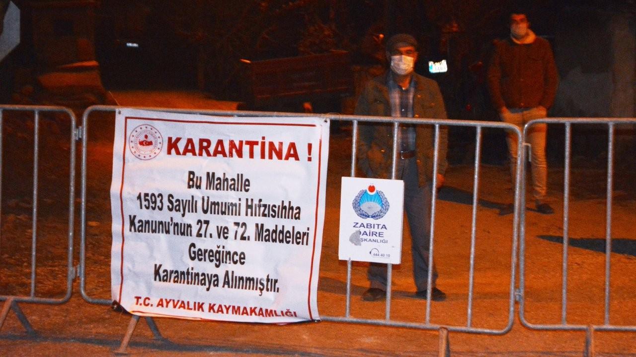 Balıkesir, Afyonkarahisar ve Sinop'ta karantina kararları