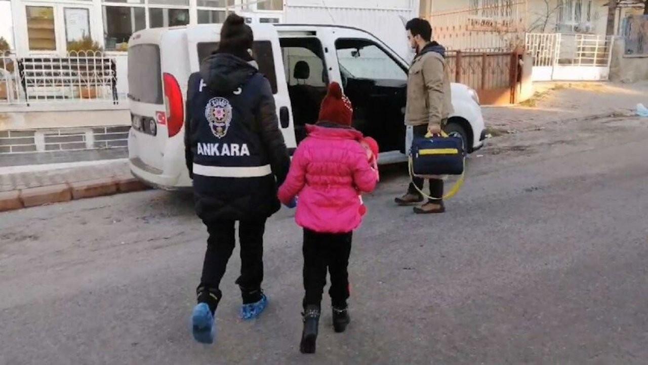 'Ganimet' olarak kaçırılan 7 yaşındaki çocuk Ankara'da kurtarıldı