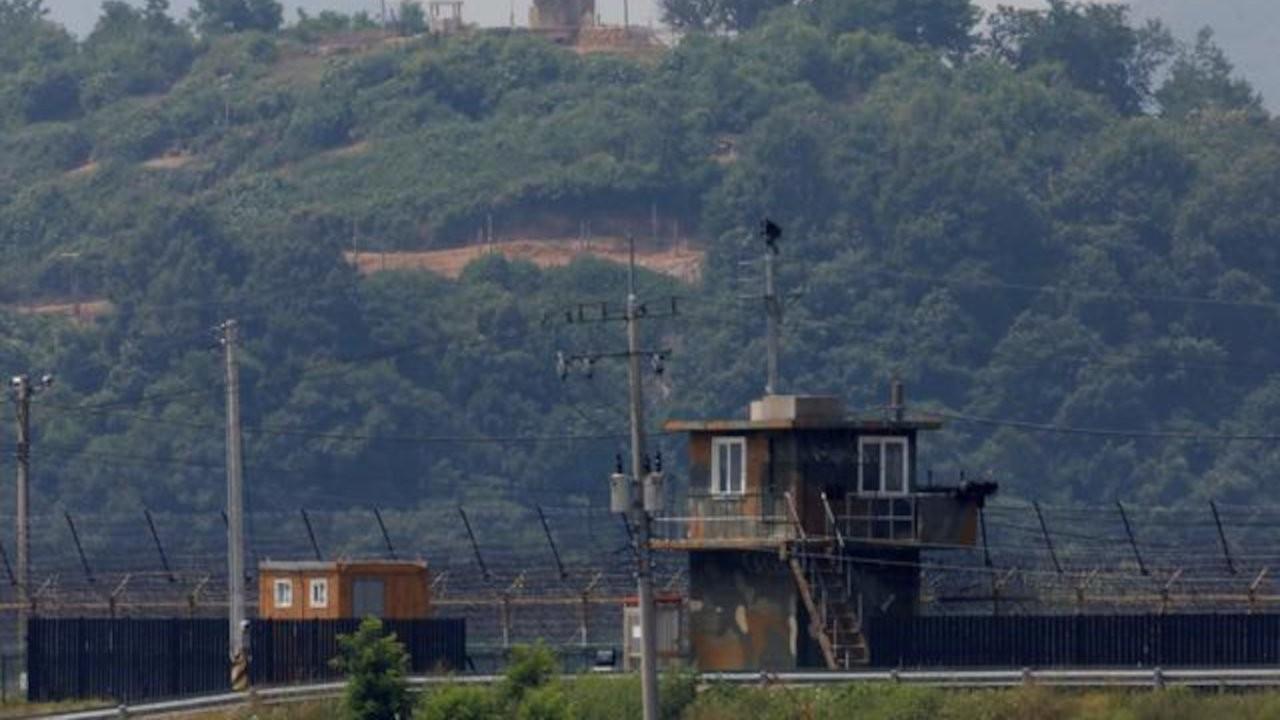 Kuzey Kore'den yüzerek Güney Kore sınırına geldi, askerler fark etmedi