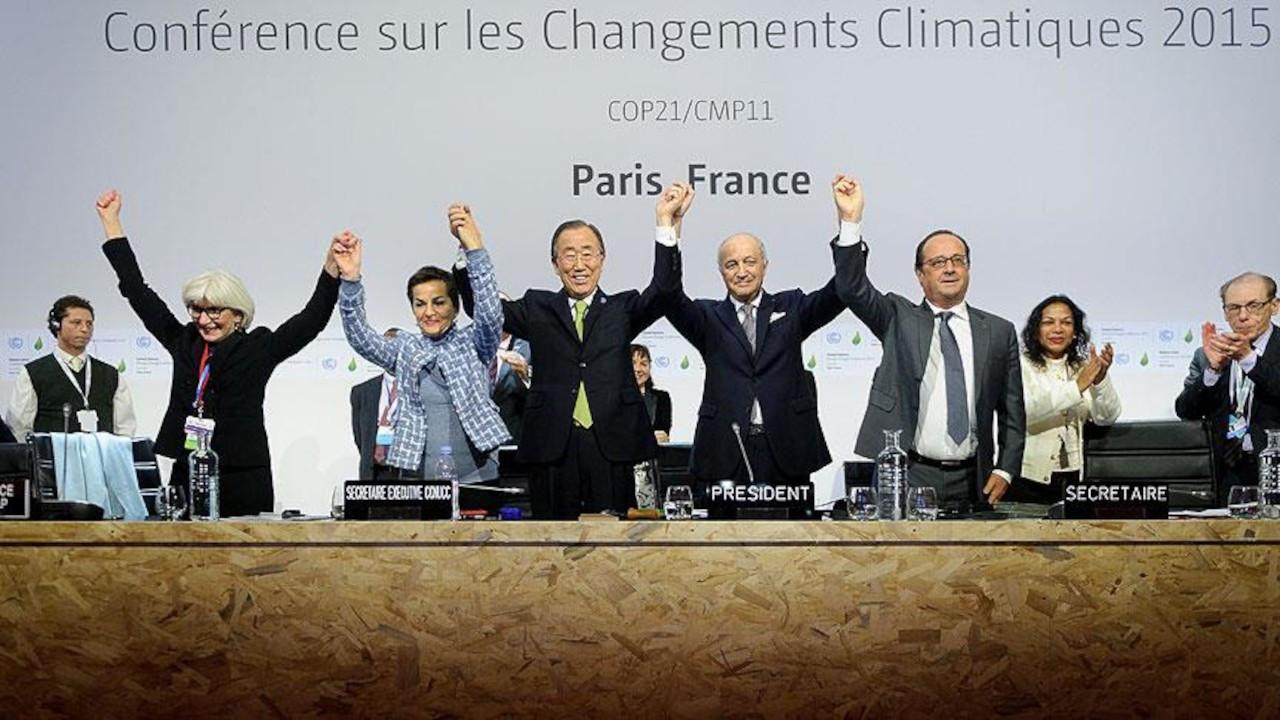 Paris Anlaşması'nın onaylanması için imza kampanyası